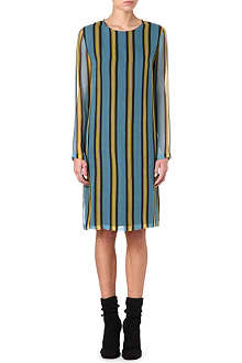 DRIES VAN NOTEN Davita striped dress