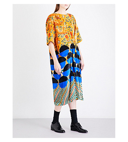 DRIES VAN NOTEN Delfont velvet dress (Des+a