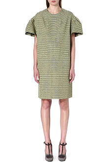 DRIES VAN NOTEN Deolas flared-sleeves oversized dress