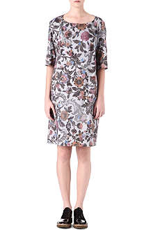 DRIES VAN NOTEN Derim floral-print dress