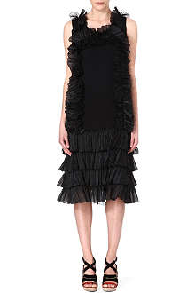 DRIES VAN NOTEN Ruffle dress