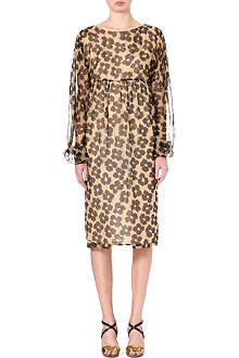 DRIES VAN NOTEN Dillon silk dress