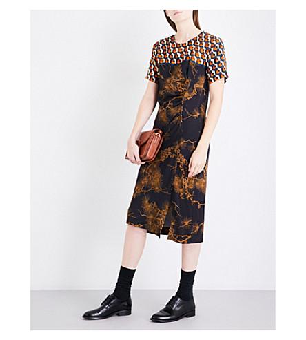 DRIES VAN NOTEN Donen crepe dress (Des+a