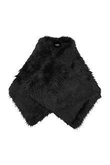 DRIES VAN NOTEN Faux-fur stole