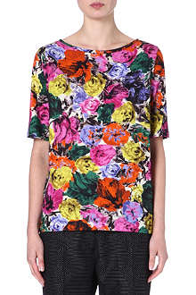 DRIES VAN NOTEN Hamby floral-print t-shirt