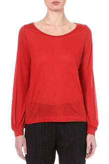 DRIES VAN NOTEN Drop hem jumper
