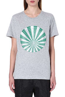 DRIES VAN NOTEN Hamling sphere-print t-shirt