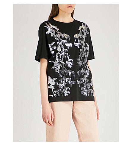 DRIES VAN NOTEN Haydu cotton-jersey T-shirt (Black