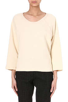 DRIES VAN NOTEN Oversized jersey sweatshirt
