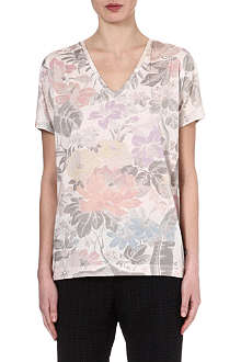 DRIES VAN NOTEN Hellen floral-print t-shirt