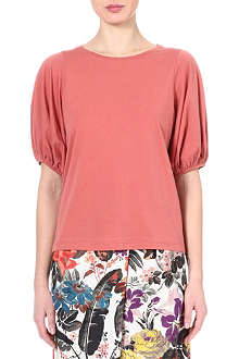 DRIES VAN NOTEN Balloon-sleeve top