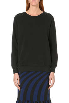 DRIES VAN NOTEN Hinze zip-detail sweatshirt