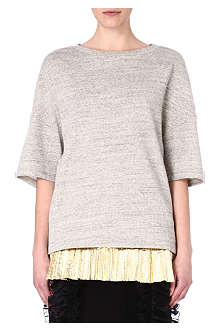 DRIES VAN NOTEN Holdorf short-sleeved sweatshirt