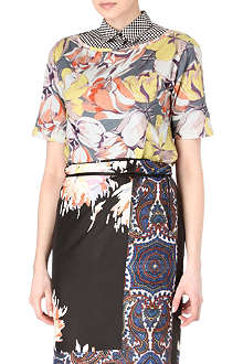 DRIES VAN NOTEN Hooks Flower top