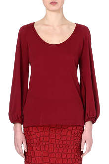 DRIES VAN NOTEN Puff-sleeve top