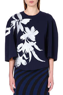 DRIES VAN NOTEN Hyduke floral-print top