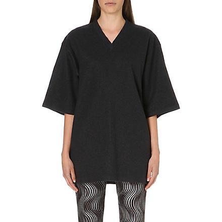 DRIES VAN NOTEN Hyzer mid-sleeved wool jumper (Grey