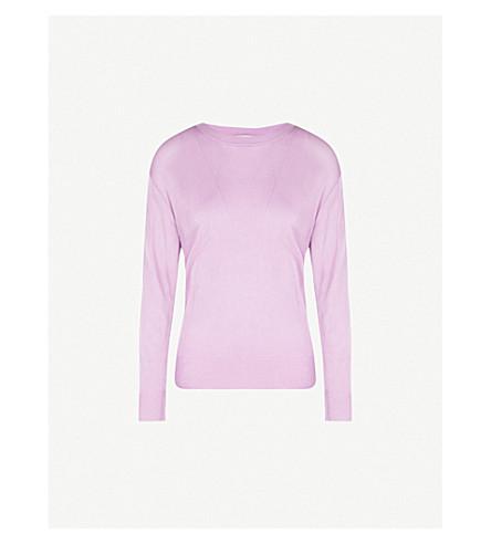 DRIES VAN NOTEN Knitted jumper (Lilac