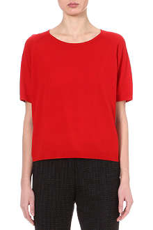 DRIES VAN NOTEN Jane short-sleeved wool top
