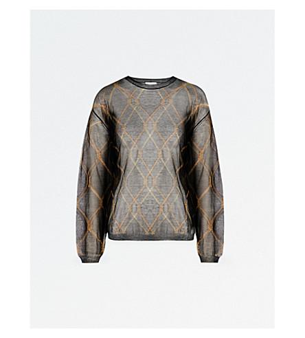 DRIES VAN NOTEN Javier knitted jumper (Black