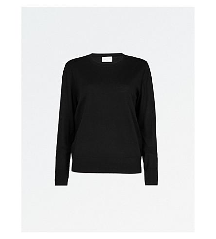DRIES VAN NOTEN Wool jumper (Black