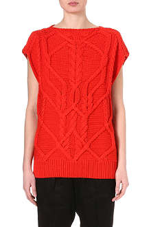 DRIES VAN NOTEN Jimmie cable knit jumper