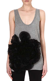 DRIES VAN NOTEN Knitted vest top