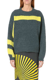 DRIES VAN NOTEN Marjella alpaca and wool-blend jumper