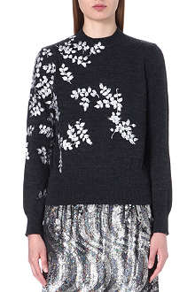 DRIES VAN NOTEN Maurita knitted wool jumper