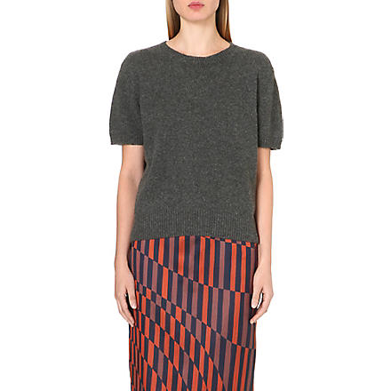 DRIES VAN NOTEN Mignon cashmere jumper (Anthra