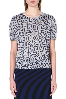 DRIES VAN NOTEN Mirese knitted top