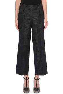 DRIES VAN NOTEN Parvis wide-leg trousers