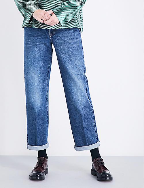 Boyfriend - Jeans - Jeans & denim - Clothing - Womens - Selfridges ...