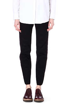 DRIES VAN NOTEN Contrast panel trousers