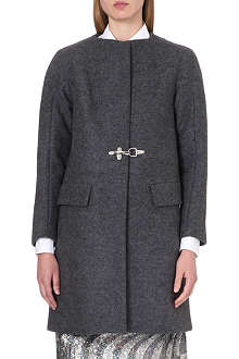 DRIES VAN NOTEN Rakeem wool coat