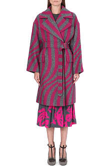 DRIES VAN NOTEN Rhonda wool coat