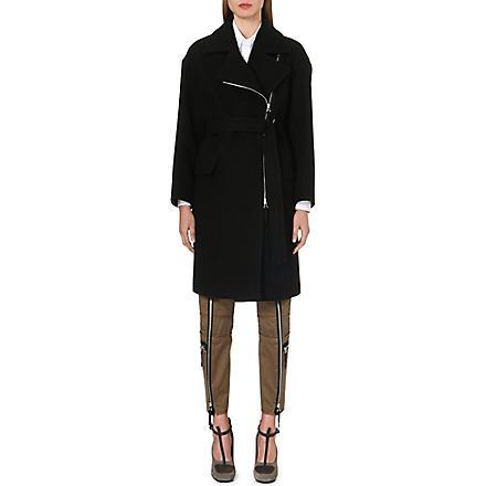 DRIES VAN NOTEN Rhonda wool coat (Black