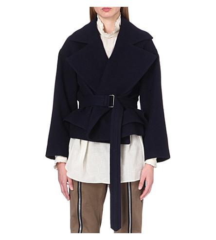 DRIES VAN NOTEN Rhonda wool jacket (Navy