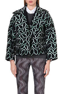 DRIES VAN NOTEN Rhonda embroidered wool jacket