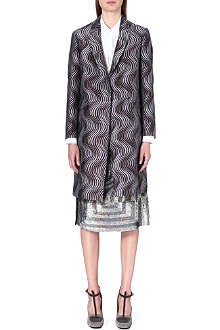 DRIES VAN NOTEN Rocher embroidered coat