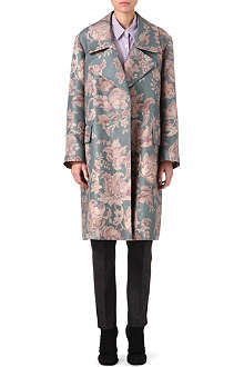 DRIES VAN NOTEN Ruti floral coat