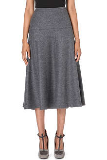 DRIES VAN NOTEN Shammis wool midi skirt