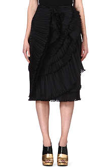DRIES VAN NOTEN Ruffle skirt