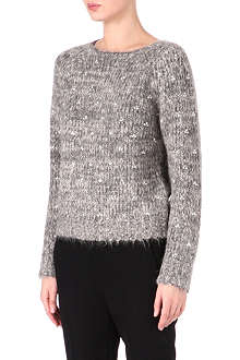 DRIES VAN NOTEN Crystal embellishment jumper