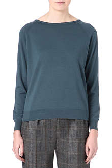 DRIES VAN NOTEN Marino loose-fitting crew-neck jumper