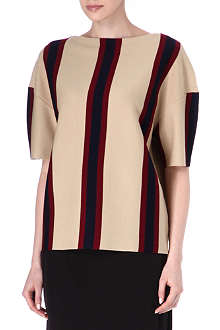 DRIES VAN NOTEN Boat-neck knitted jumper