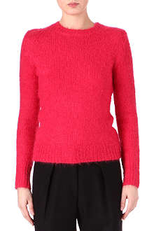 DRIES VAN NOTEN Alpaca-blend fitted jumper