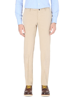 SLOWEAR Cotton regular fit chinos