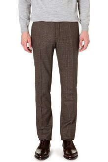 SLOWEAR Prince of Wales check trousers