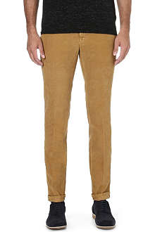 SLOWEAR Slim-fit corduroy trousers